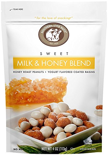 - SOUTHERN STYLE NUTS Milk & Honey Blend, 4 oz (Pack of 6)
