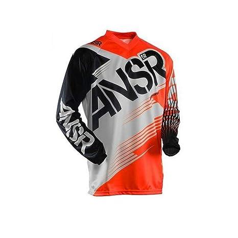 ZiJieShiYe Camiseta de Manga Larga de Deportes al Aire Libre, Traje de Descenso, Carreras de Motocross, Camiseta. (Color : 5, Size : XXS)
