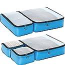 eBags Ultralight Packing Cubes - Super Packer 5pc Set (Blue)