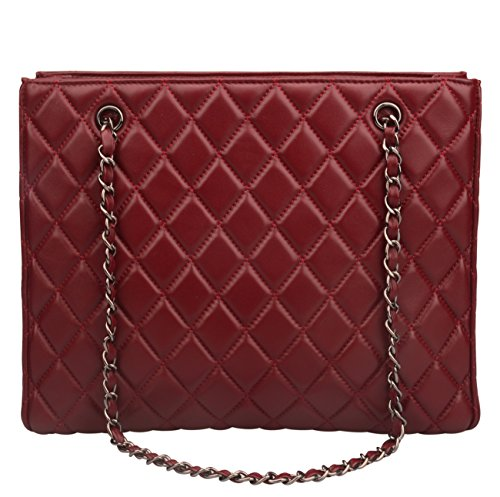 quilted leather handbags - 7