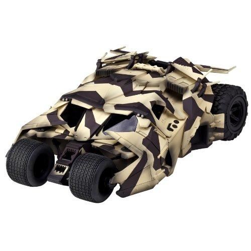 特撮リボルテック043EX バットマン・ビギンズ ダークナイト ダークナイト・ライジング バットモービルタンブラー カモフラージュVer. ノンスケール ABS&PVC製 アクションフィギュア