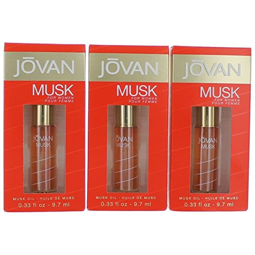 JOVAN MUSK by Jovan PERFUME OIL .33 OZ (Package Of -