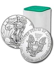 1986 - Present Lot of (20) 1-Ounce American Silver Eagle $1 .999 Fine Silver Brilliant Uncirculated US Mint
