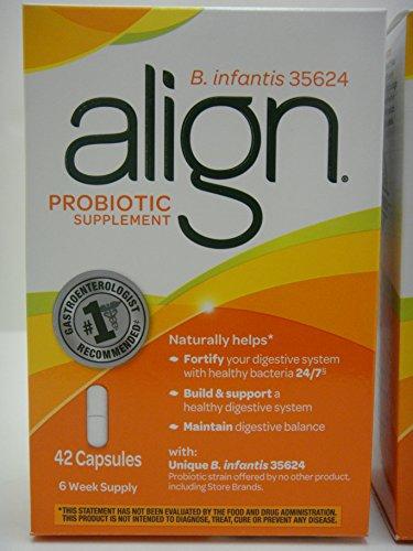 (84 Capsules) Align Probiotic B. infantis 35624 Digestive Care 2 Boxes of 42 NIB