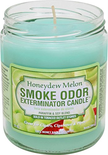 Smoke Odor Exterminator Candle - Odor Exterminator Candle Honey Dew Melon 13oz
