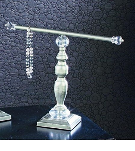 Bracelet Stand - Antique Silver Finish Holder Display