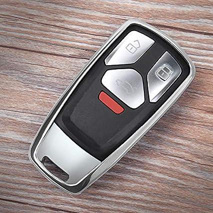 Amazon Com Autobig Smart Car Key Case For New Audi A4 B9 A5 Q5 Q7