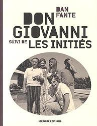 Don Giovanni : Suivi de Les initiés