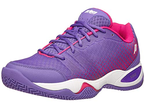 (Prince T22 Lite Clay Wom's Purple/Pink 8.5)