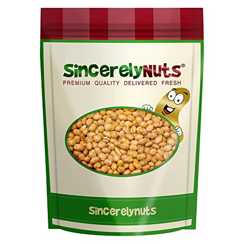 Sincerely Nuts Soybeans (Soy Nuts) Roasted & Salted - One Lb. Bag - Exquisite Crunchy Taste - Kosher Certified