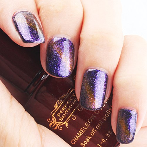 Perfect Summer New 2 PCS Gel Nail Polish 3D Magnetic Cat-Eye