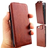 iPhone 6 4.7 case, iphone 6s 4.7 case, BRILA iPhone 6 Leather Flip Case, Built-in Card Slots with Photo Frame, Wallet Flip Cover for Iphone 6 iphone 6s 4.7 (Brown)