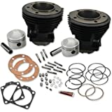 S&S Cycle 91-9017 Stock Bore Cylinder and Stroker Piston Kit