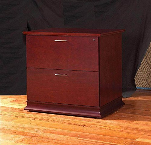 Westboro 2-Drawer Lateral File Cabinet (Honey Cherry)