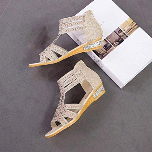 Schuhe Alla SANFASHION Bekleidung SANFASHION Schiava 144155 Donna Beige3 Damen qOtfB