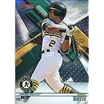 2ae5227e705 2018 Bowman s Best Baseball  16 Khris Davis Oakland Athletics MLB Trading  Card.