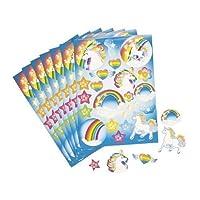 Fun Express Unicorn Rainbow Sticker Sheets by