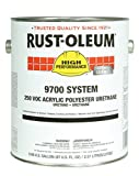 Rust-Oleum 207273 Crystal Clear High Performance 9700 System 250 VOC Acrylic Polyester Urethane Paint, 1 gal, 1 fl. oz. Can (Pack of 2)