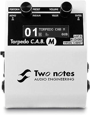 Two Notes Torpedo C.A.B. Meters Speaker Simulator review