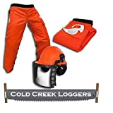 Professional Forestry Cutter's Combo Kit by Cold Creek Loggers (40 Inches)