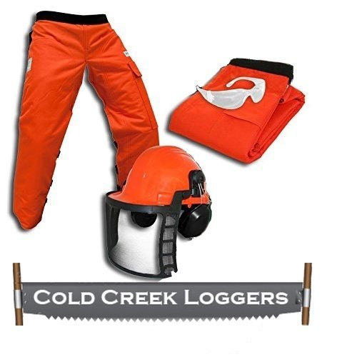 Professional Forestry Cutter's Combo Kit by Cold Creek Loggers (35 Inches
