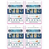 On the Go Towels Citrus Refresh Large Cleansing Wipes 10-Pack X 4 (40 Towels)