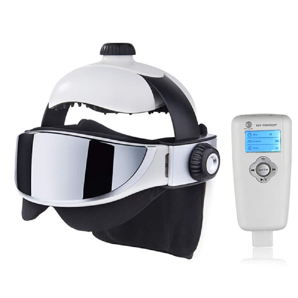 Meet now 高度な圧子2イン1ヘッドマッサージ、アイマッサージ、高度な音楽マッサージヘルメットデザイン 品質保証 B07QTZ1RC8