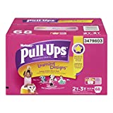 Health & Personal Care : Huggies Pull-Ups Learning Designs Training Pants for Girls, Giga Pack, Size 2T-3T, 68 Count