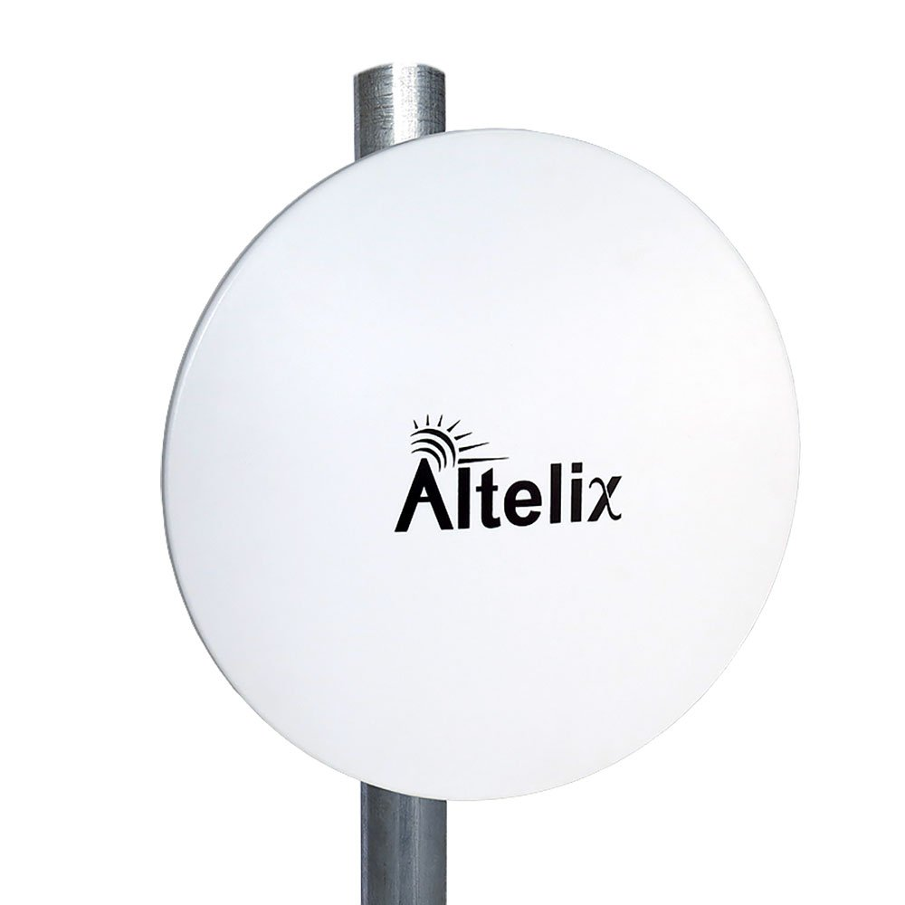 Altelix 5 GHz 23dBi MIMO 2x2 PtP Dish Antenna with Radome for Ubiquiti RocketM5, Mimosa C5c, MikroTik BaseBox 5, Cambium ePMP, TP-Link WBS510
