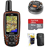 Garmin GPSMAP 64s Worldwide Handheld GPS with 1 Year Birdseye...