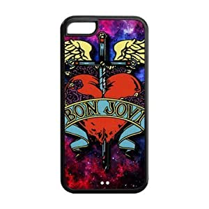 Bon Jovi iPhone 5C Case Rock Band Bon Jovi Colorful Case Cover