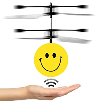 DMbaby Novedad Juguetes Flying Ball Helicopter- Mejores Regalos (style1)
