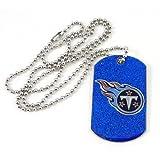 NFL Tennessee Titans Glitter Dog Tag