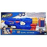 Hasbro Nerf B4620EU4 - N-Strike Elite Dual-Strike, Spielzeugblaster