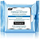 Neutrogena Make-Up Remover Cleansing Towelette, Fragrance-Free 25 ea (Pack of 12)