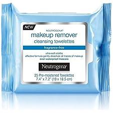 Neutrogena Make-Up Remover Cleansing Towelette, Fragrance-Free 25 ea