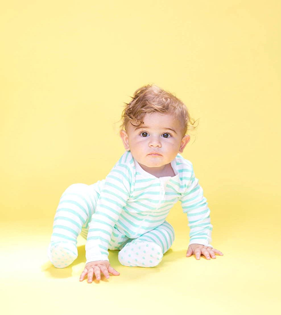 Cole Cleo Organic Baby Pajamas Organic Infant Footed Sleeper Newborn NB PJs