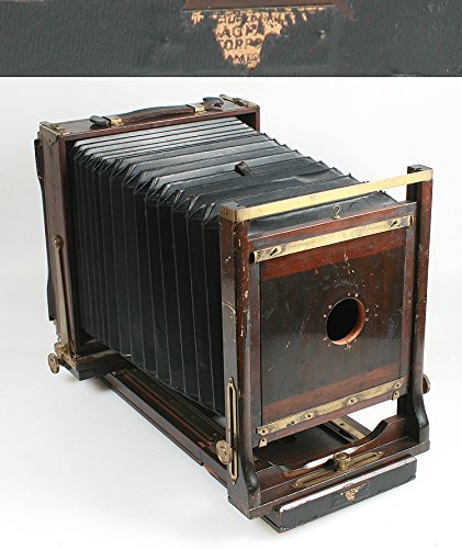 AGFA 8 X 10 VIEW CAMERA W/ LENS MOUNTING BOARD, VINTAGE 1930S from Agfa