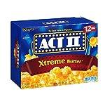 popcorn act 2 - Act Ii Xtreme Butter Microwave Popcorn - 12 Bag Box 33.01 Oz