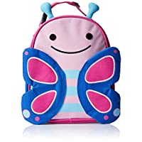 Fiambrera con aislamiento infantil Skip Hop Zoo para niños, Blossom Butterfly, Rosa
