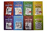 download ebook diary of a wimpy kid hardcover set 1-8 by jeff kinney (diary of a wimpy kid, rodrick rules, the last straw, dog days, the ugly truth, cabin fever, the third wheel, hard luck) pdf epub