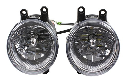 Fits 2014-2017 Toyota 4Runner (SR5, TRAIL, LTD, TRD PRO) LED Fog Light Upgrade Kit