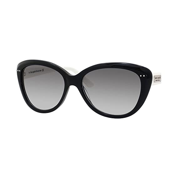 6a1a1740e7 Kate Spade Angelique 9ECY7 Black   White Angelique s Cats Eyes Sunglasses  Lens  Amazon.co.uk  Clothing