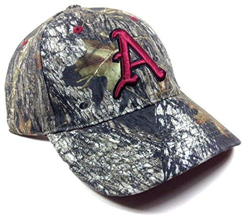 Arkansas Razorbacks Solid Mossy Oak Camo Hat
