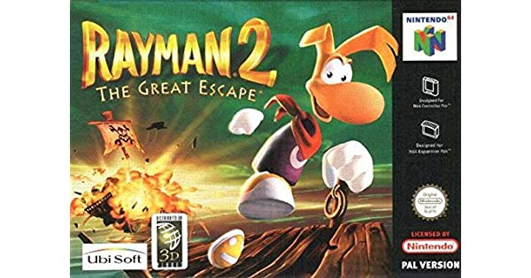 Ubisoft Rayman 2 / Juego: Amazon.es: Videojuegos