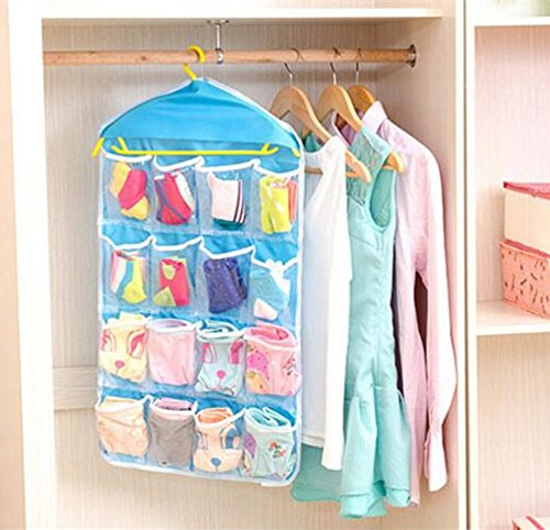 [Gobuy 16 Pocket Over the Door Wall Hanging Storage Without the Hanger] (Original Cute Costumes Ideas For Women)