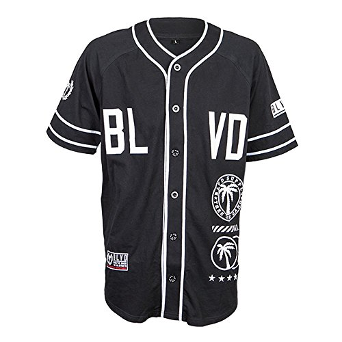 Fielder Knit Baseball Jersey - Motorcycle Baseball Jersey