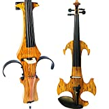 Leeche Handmade Professional Solid Wood Electric Cello 4/4 Full Size Silent Electric Cello-N1809