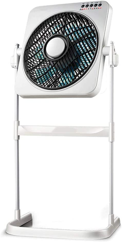 Ventilador eléctrico Ventilador de Giro Ventilador de Suelo silencioso: Amazon.es: Hogar