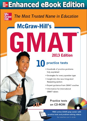 Download McGraw-Hill's GMAT 2013 Edition (McGraw-Hill's GMAT (W/CD)) Pdf